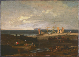 A Scene on the English Coast