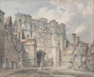 Christ Church Gate, Canterbury