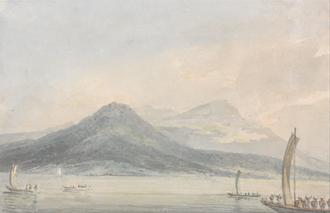 From the Isola Borromena, Lago Maggiore