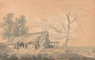 Landscape with Barn
