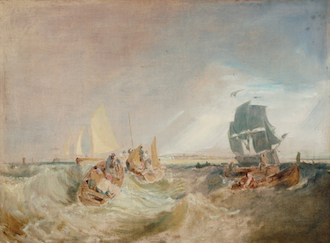 Shipping at the Mouth of the Thames