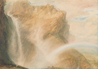 Upper Fall of the Reichenbach - Rainbow