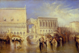 Venice, the Bridge of Sighs