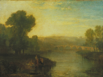 View of Richmond Hill and Bridge