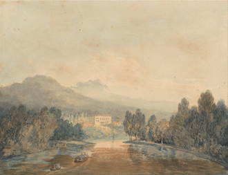 Villa Salviati on the Arno